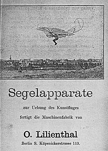 Segelapparate Lilienthal